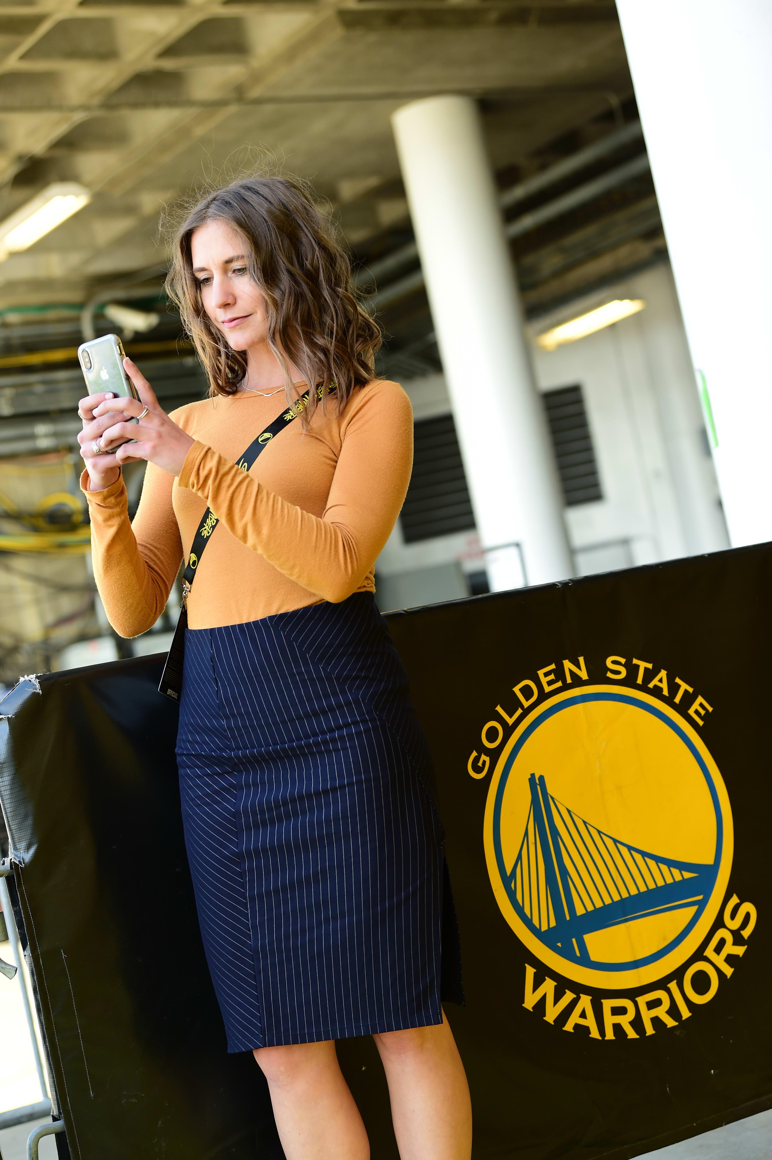 Karen Ramming Golden State Warriors Social Media 2019
