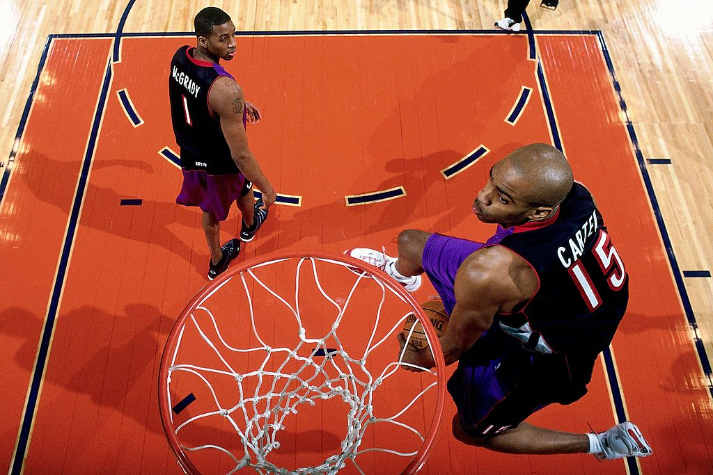 Vince Carter Tracy McGrady 2000 Dunk Contest