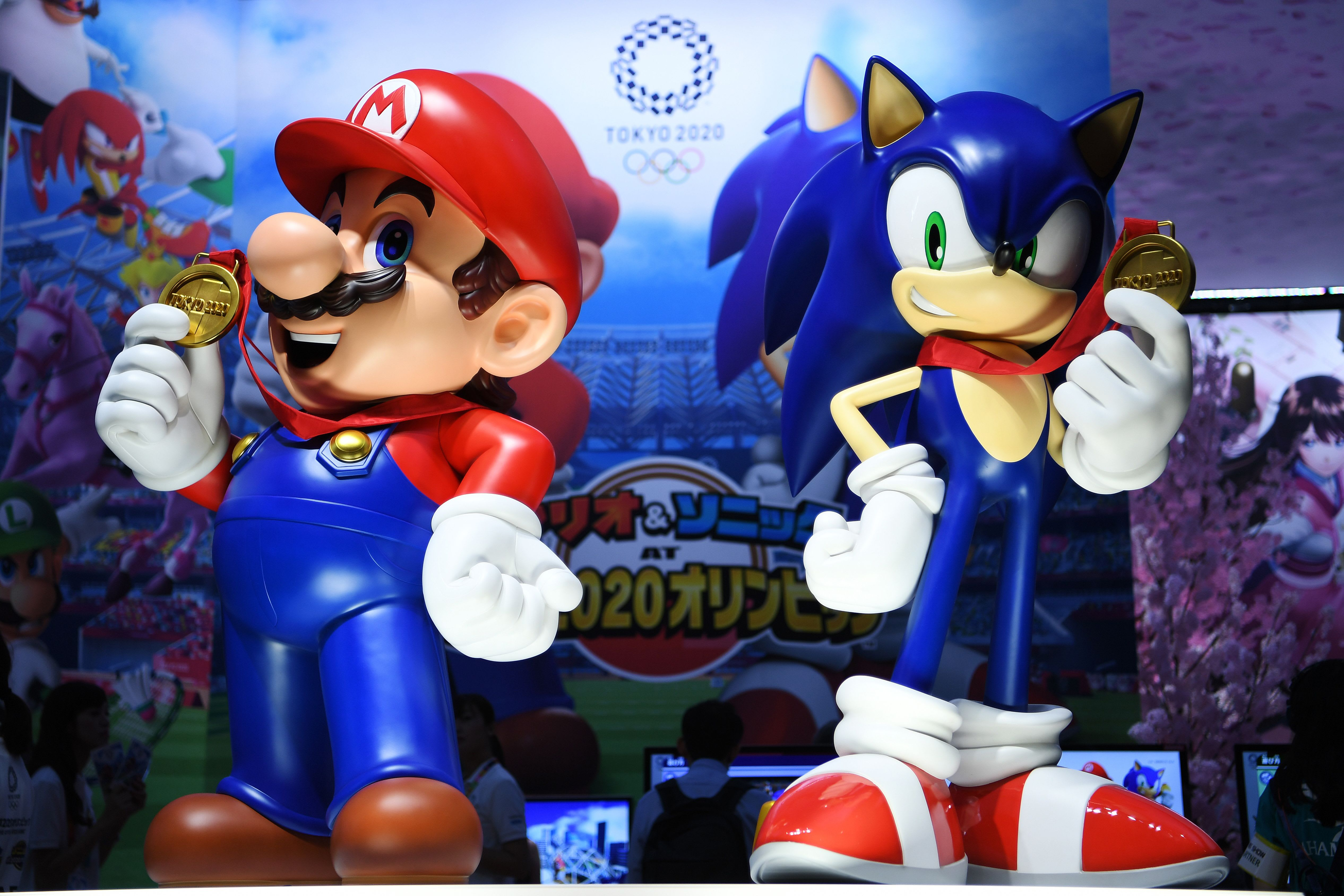 Marion and Sonic game