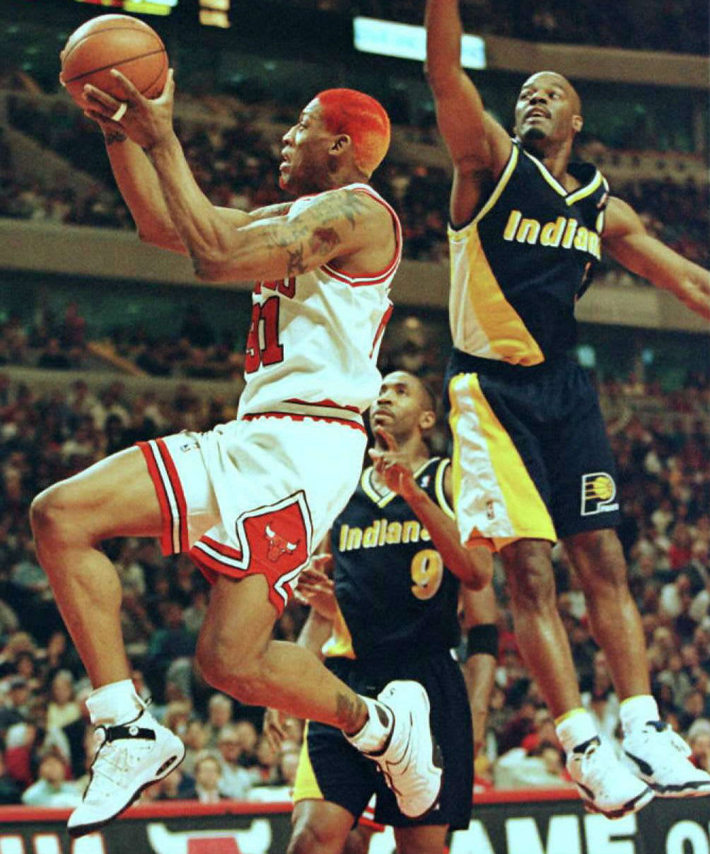 Dennis Rodman Nike Air Shake Ndestrukt