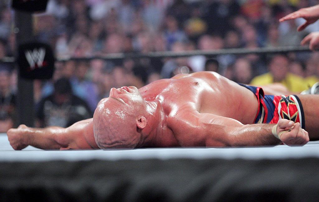 Kurt Angle WrestleMania 21