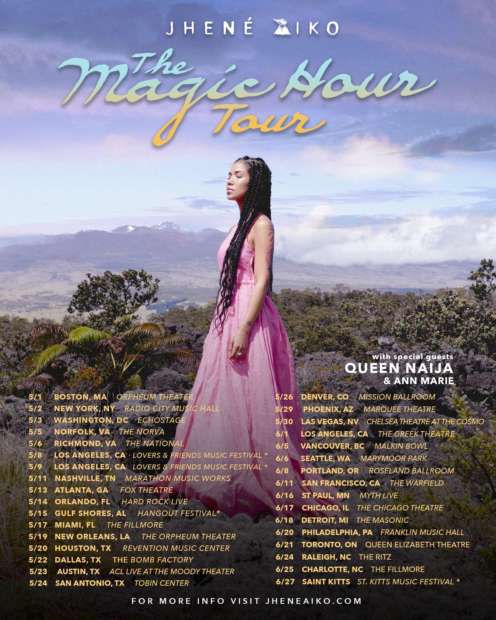 Jhené Aiko Tour