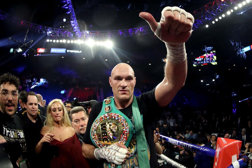 Tyson Fury WBC Belt 2020 Deontay Wilder