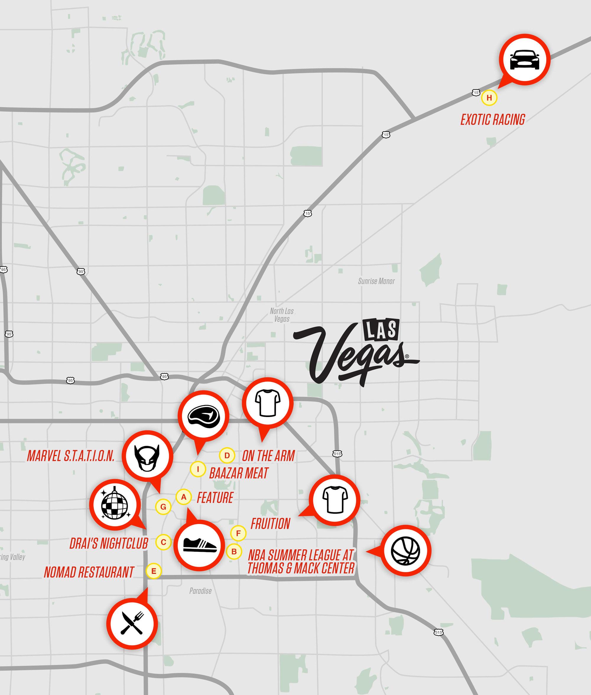 Las Vegas Complex Guide