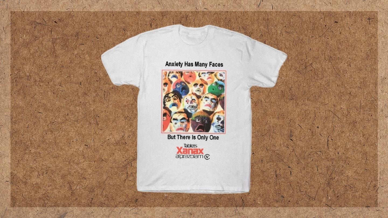 Luke Fracher 10 Things Xanax T-Shirt