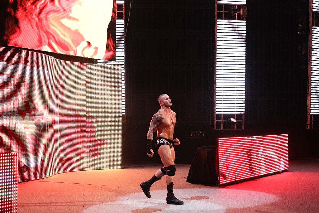 Randy Orton SummerSlam 2015 Getty