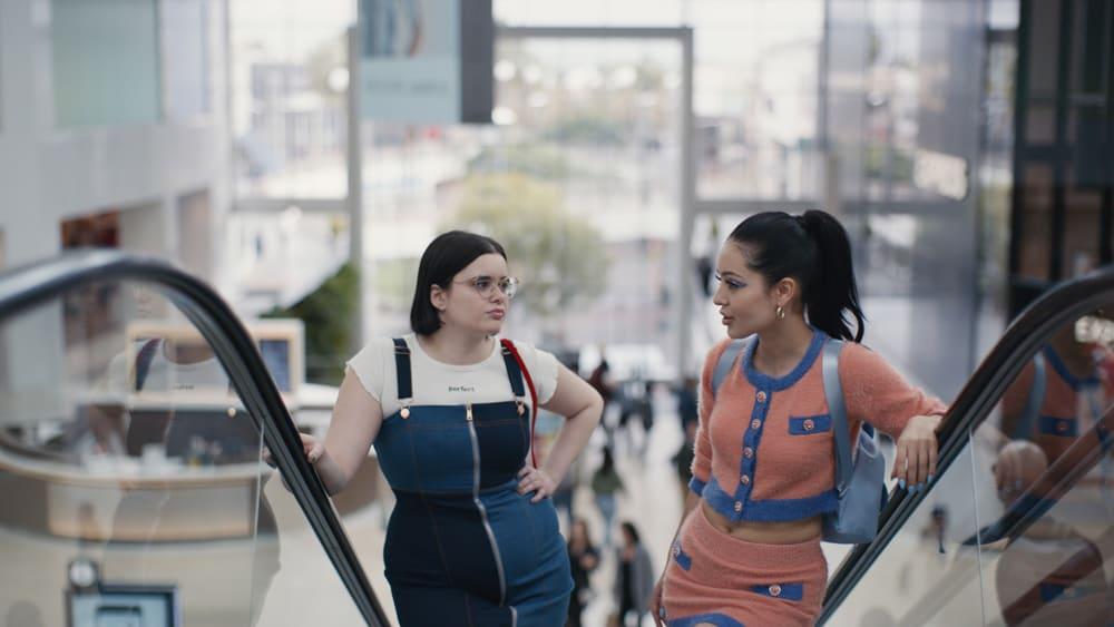 Barbie Ferreira and Alexa Demie in HBO's 'Euphoria'