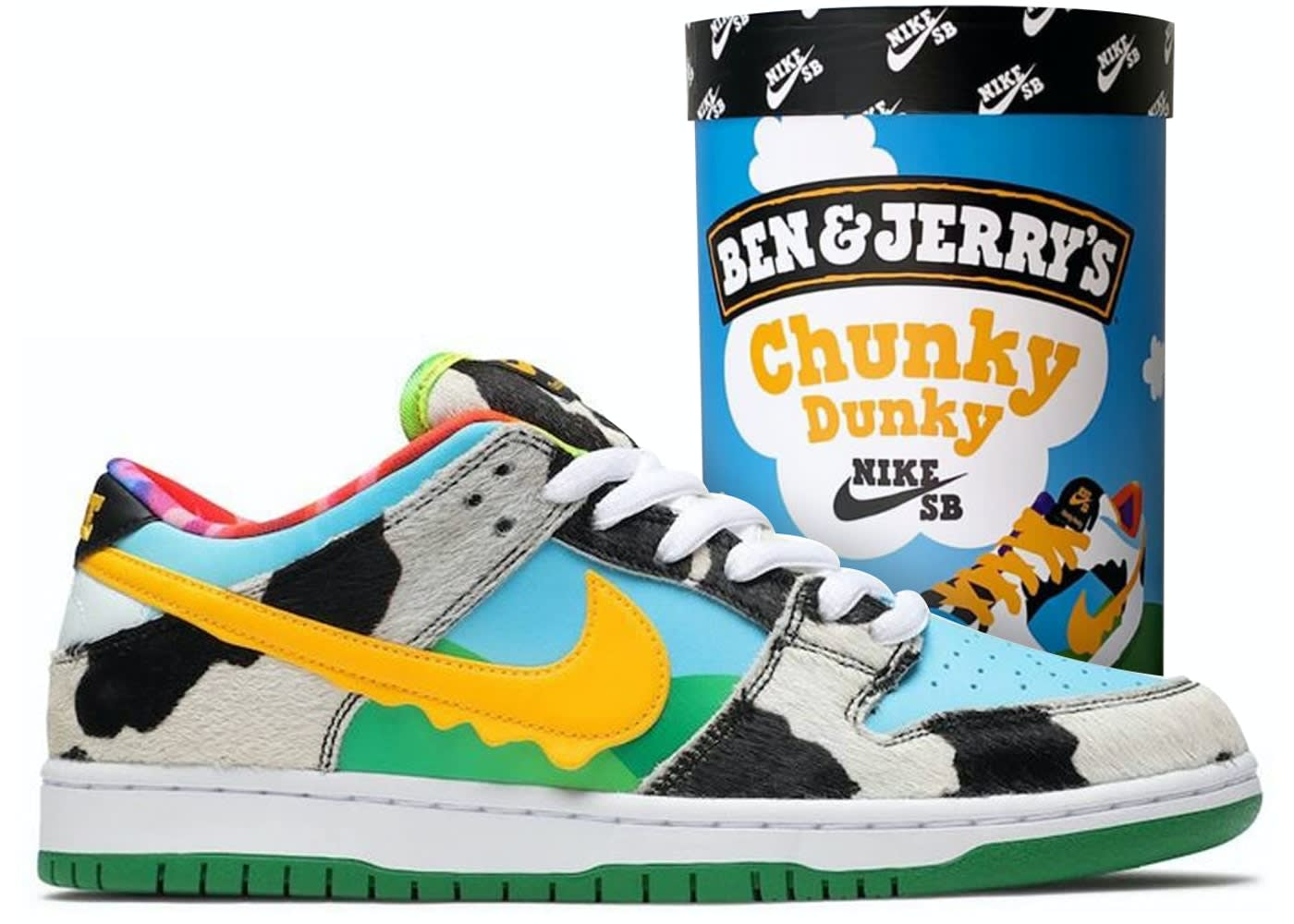 Ben and Jerry's x Nike SB Dunk Low 'Chunky Dunky'