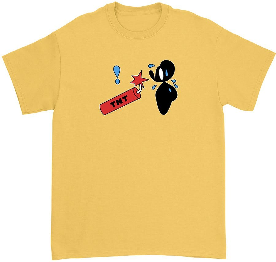 Father Steve Mouse Dynamite T-Shirt