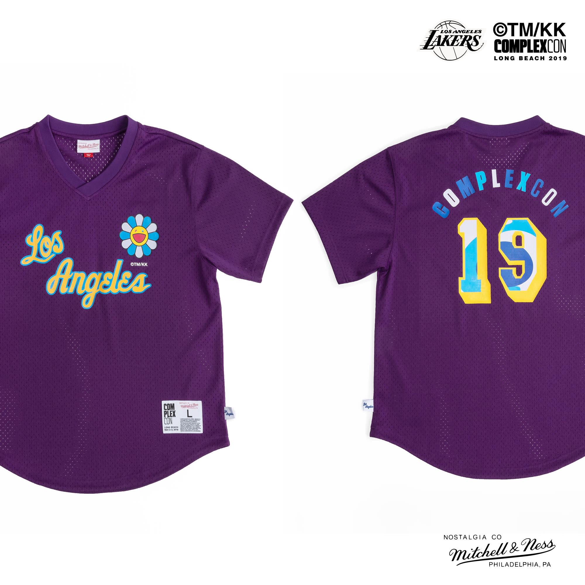 Complexcon Lakers Jersey Takashi Murukami
