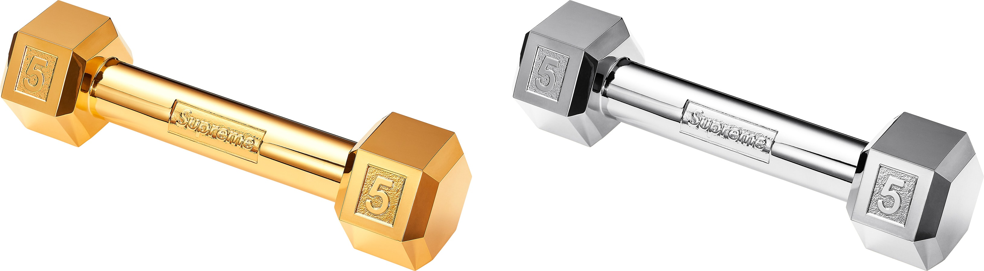 Supreme Plated Dumbbell