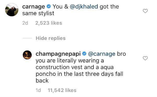 Carnage and Drake