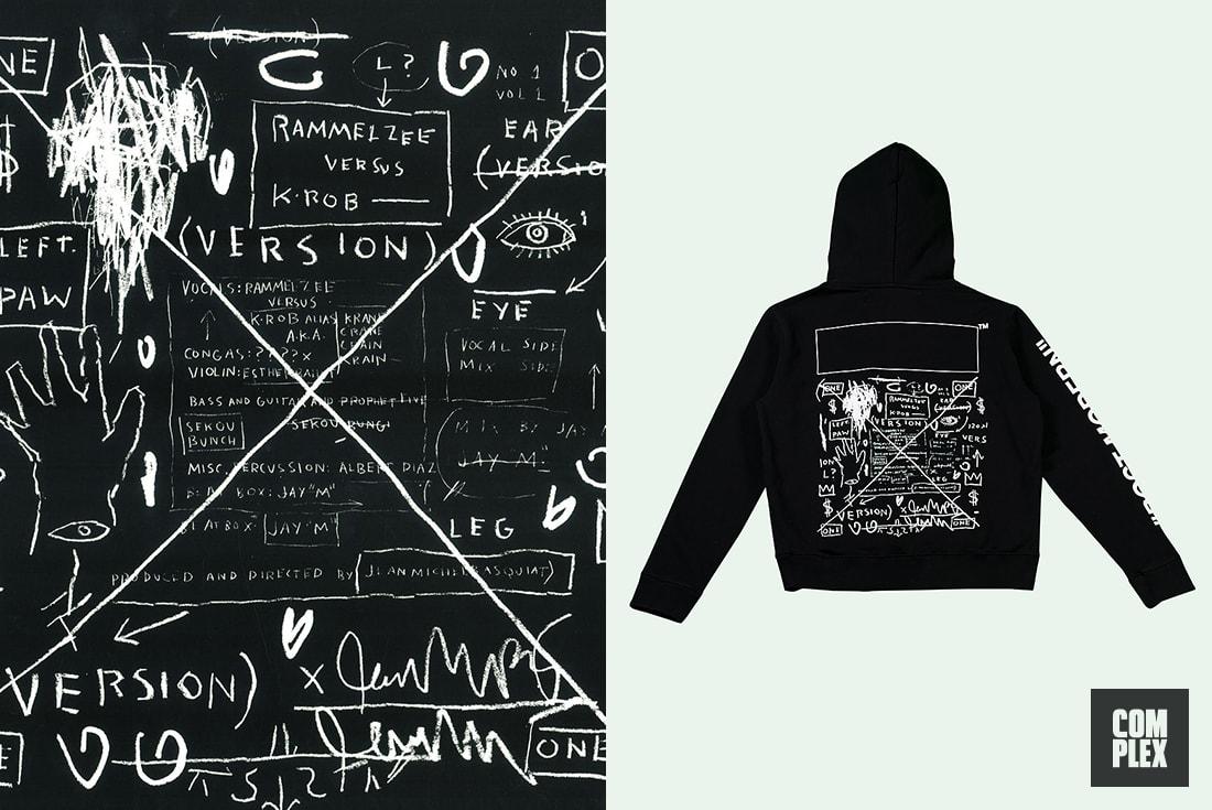 Off-White Virgil Abloh Best Art References Basquiat