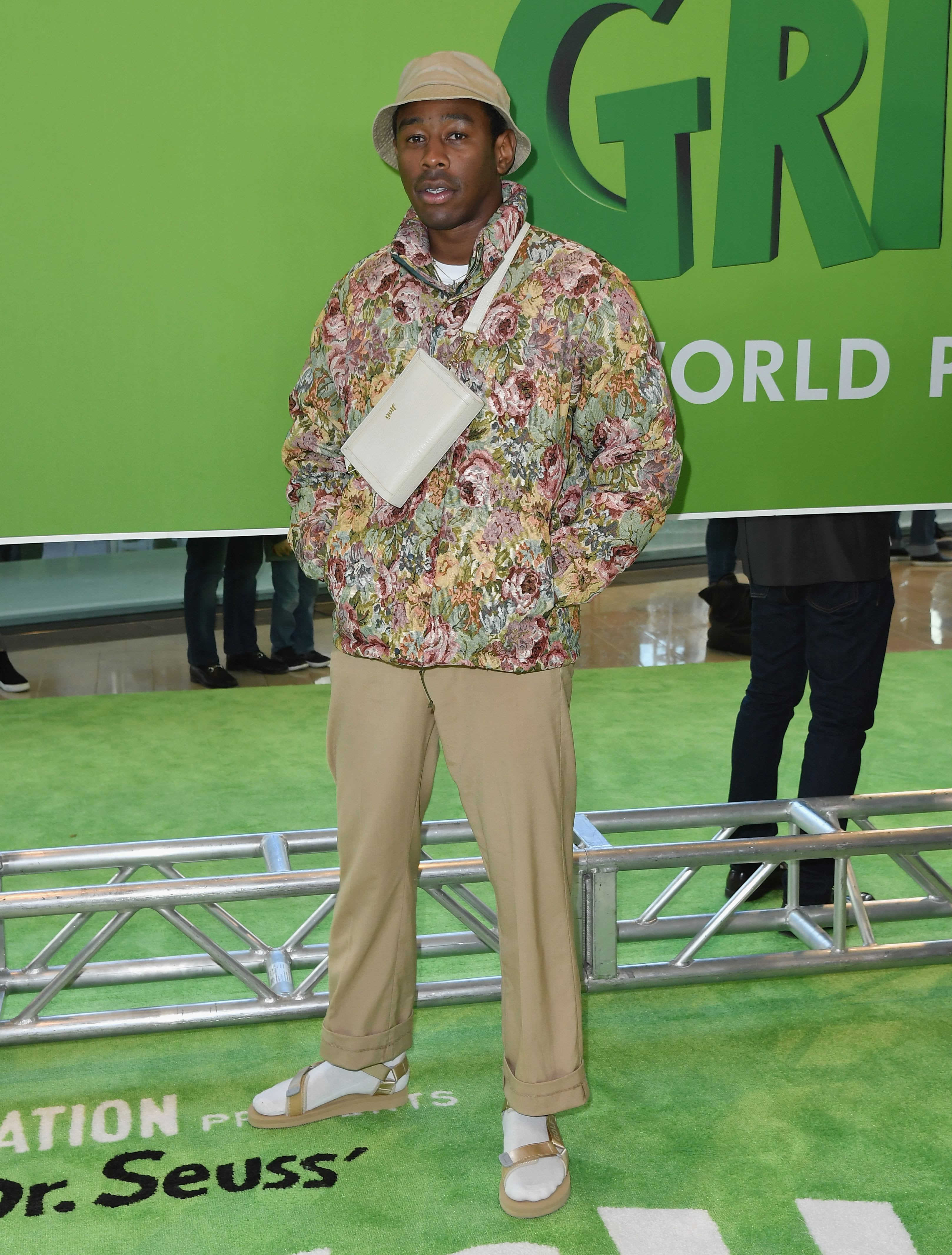 Tyler The Creator At The Grinch Film Premiere
