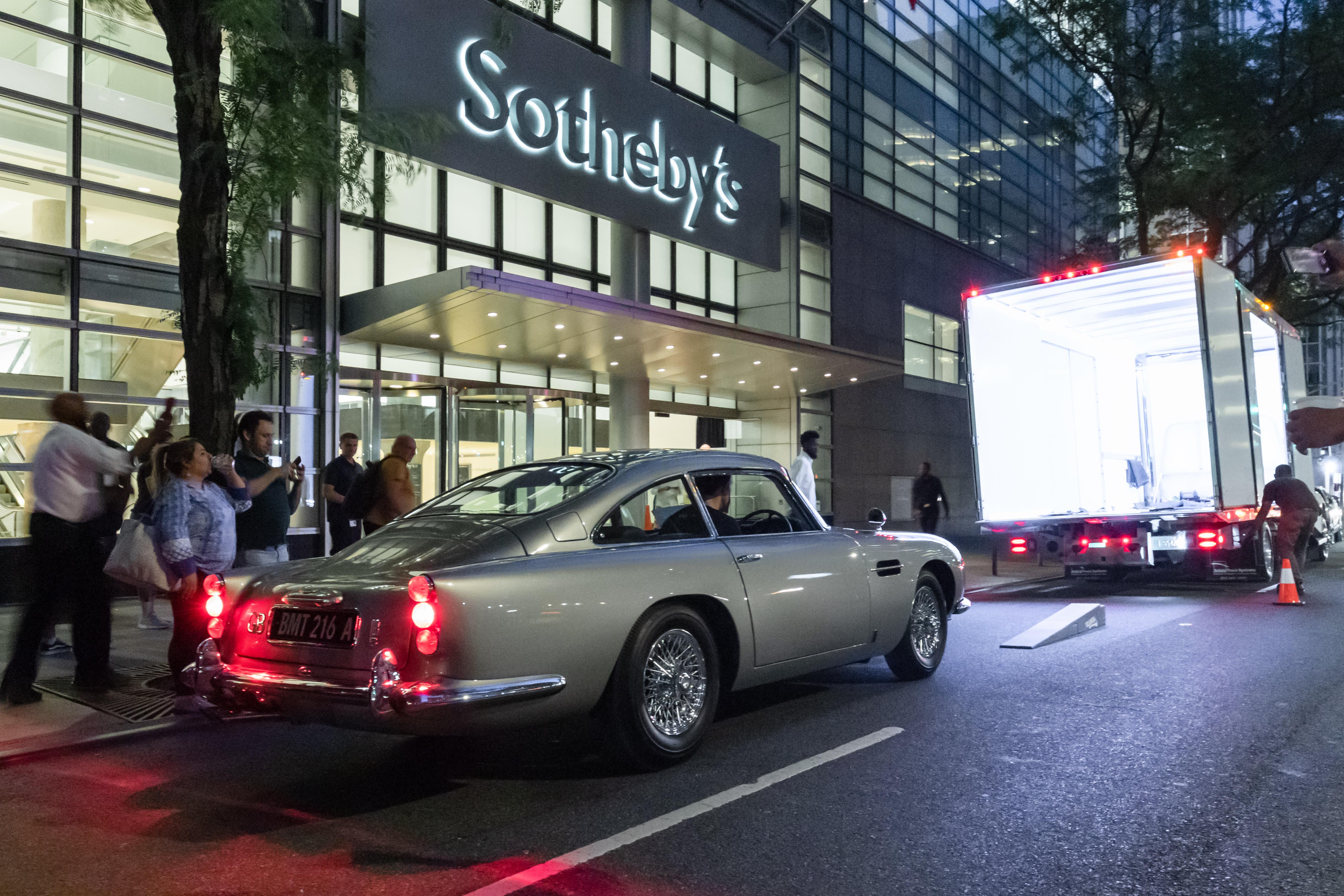 James Bond Aston Martin DB5 Is Headed to Auction