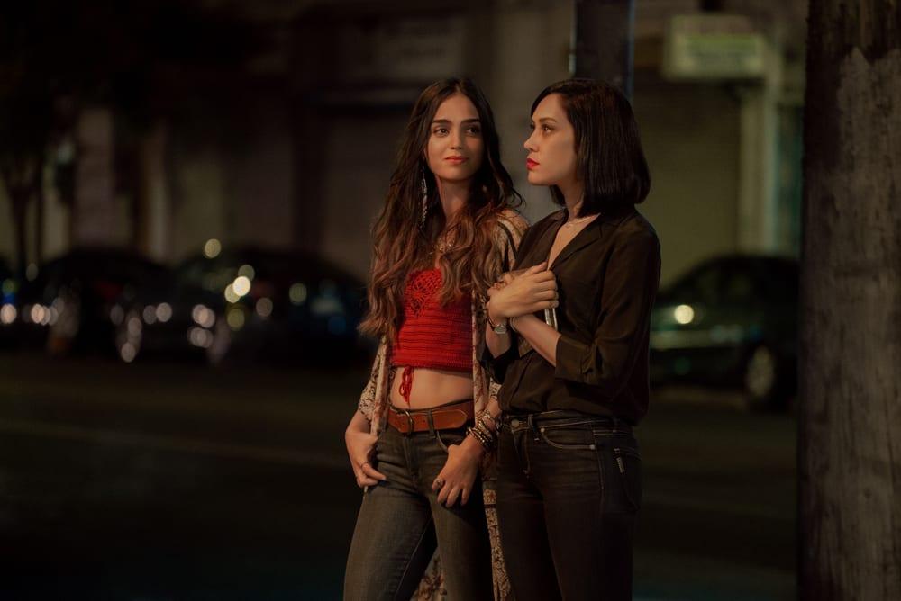Melissa Barrera and Mishel Prada in 'Vida'