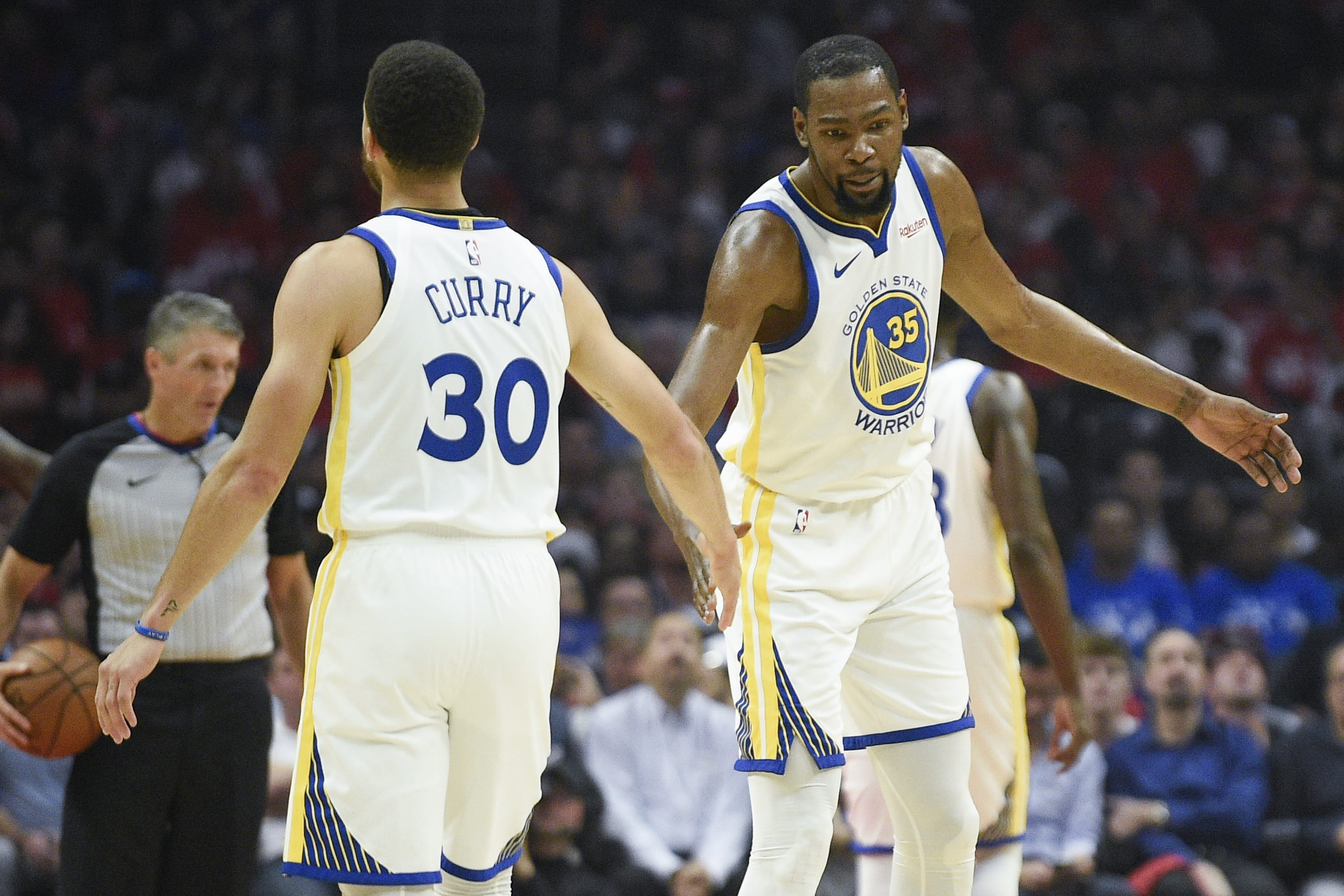 Kevin Durant Steph Curry Game 3 Clippers Warriors 2019 Playoffs