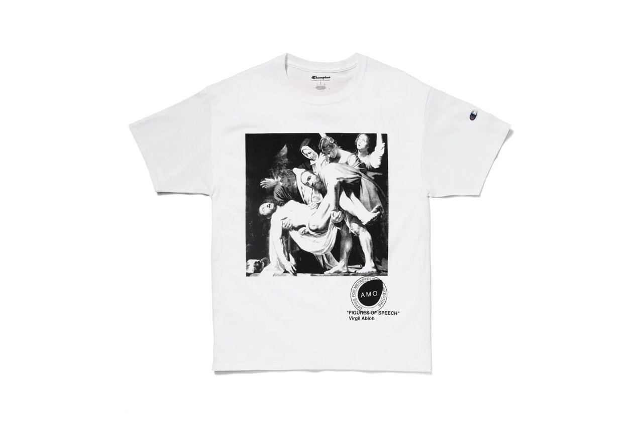 Carravagio Pyrex T-Shirt MCA Chicago Figures of Speech Merch
