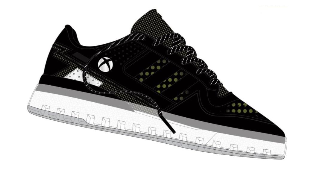 Xbox Adidas Forum Tech Boost X sneakers