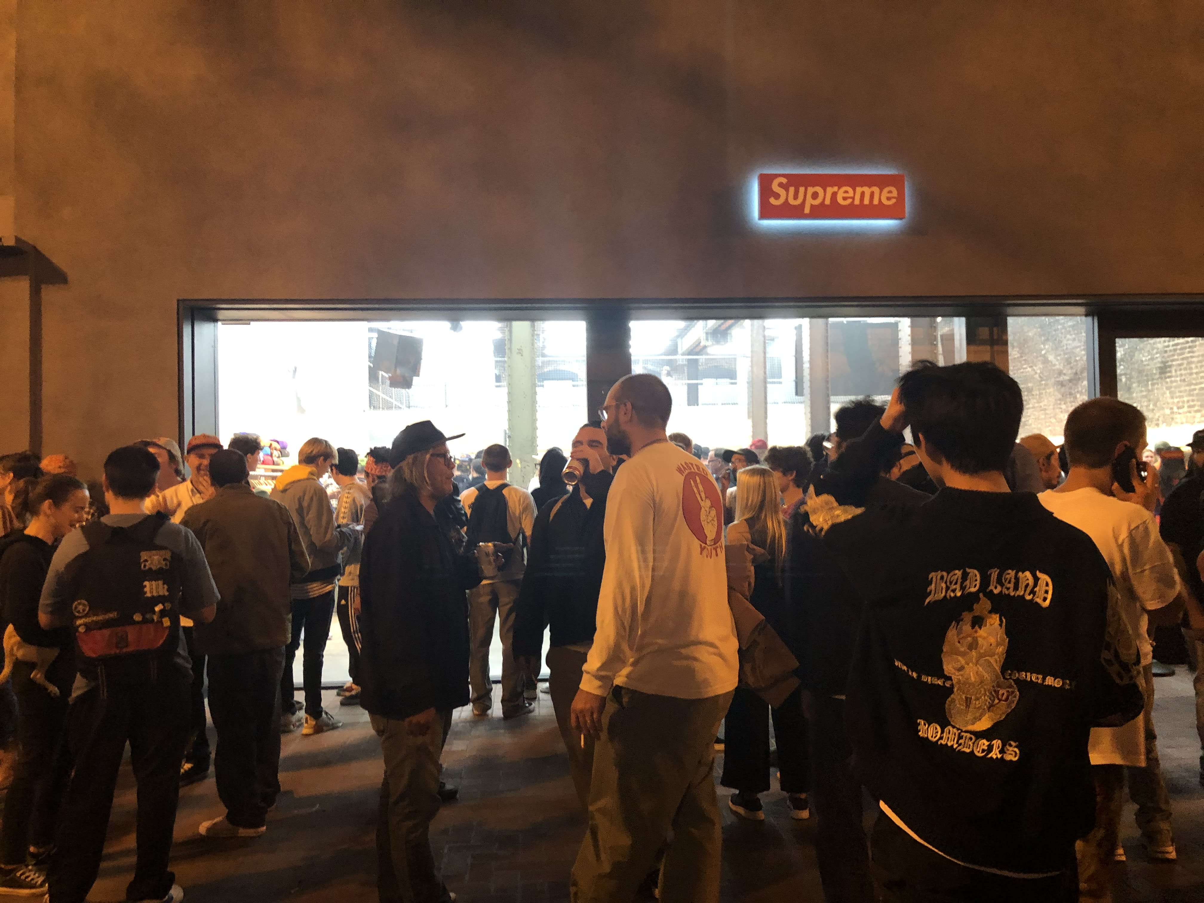 Supreme Store Opening Party Night