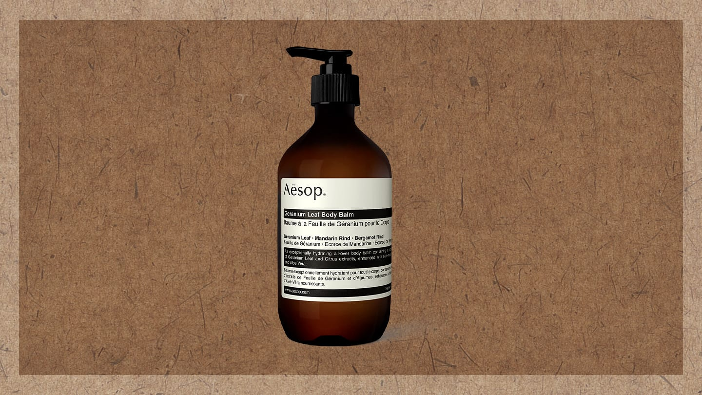 Aesop Lotion Bottle