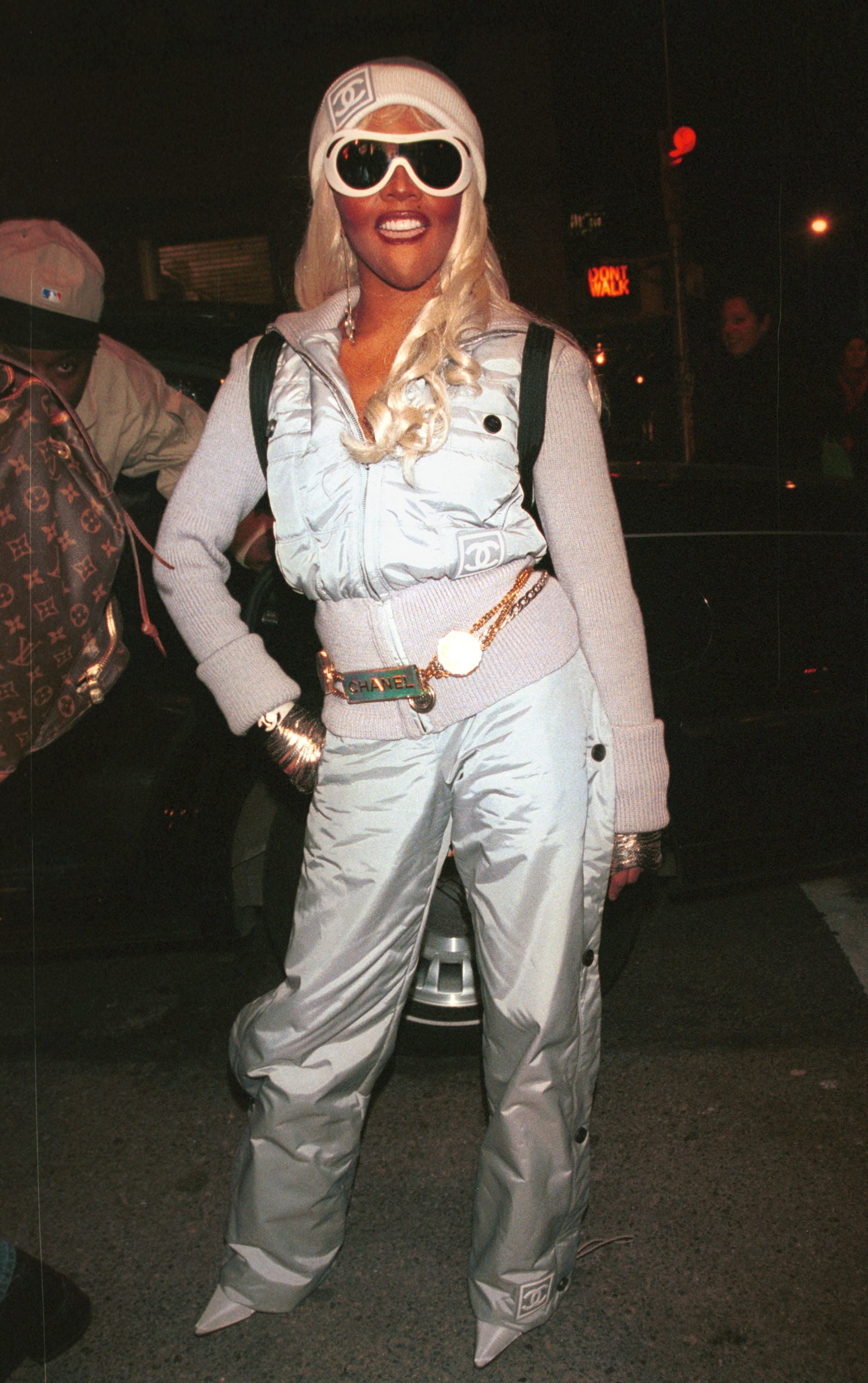 Lil Kim in Chanel