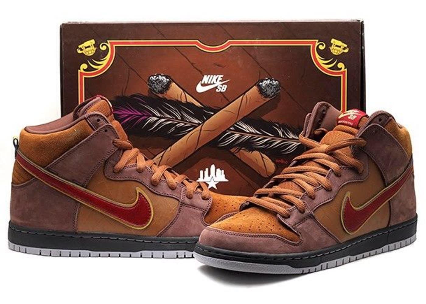 Nike SB Dunk High 'Cigar City'