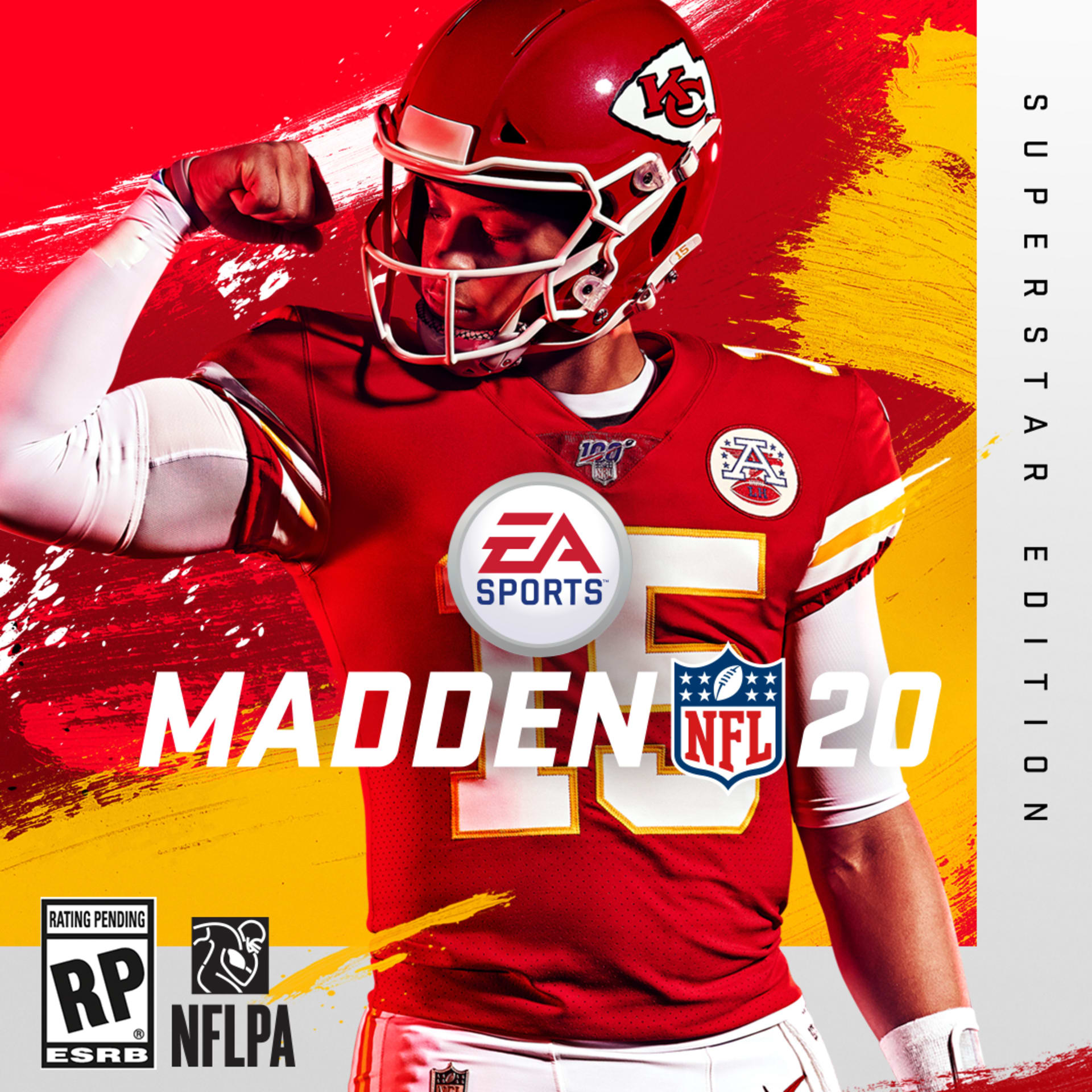 Patrick Mahomes Cover Art Madden 20 2019 Wide Feature Vertical