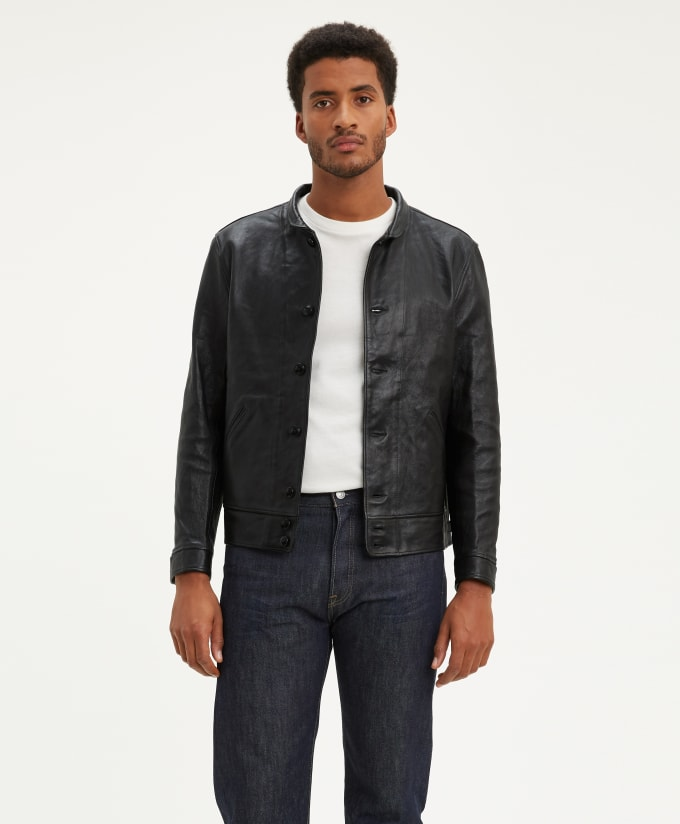 Levi S Vintage Clothing Brings Back Albert Einstein Inspired Menlo Cossack Leather Jacket Complex Uk