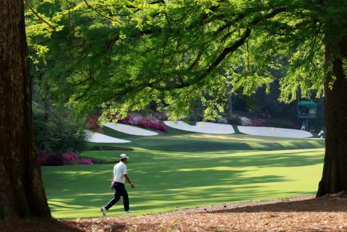 Hideki Matsuyama Masters 2021 13