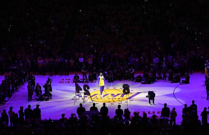 LeBron James Kobe Speech 2 2020