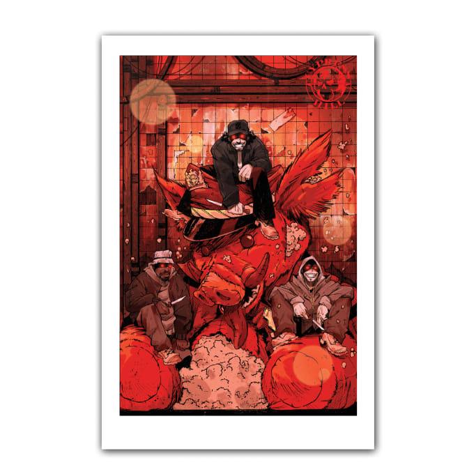 Cypress Hill: Tres Equis Art Print 02