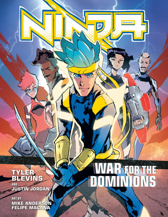'Ninja: War for the Dominions' cover