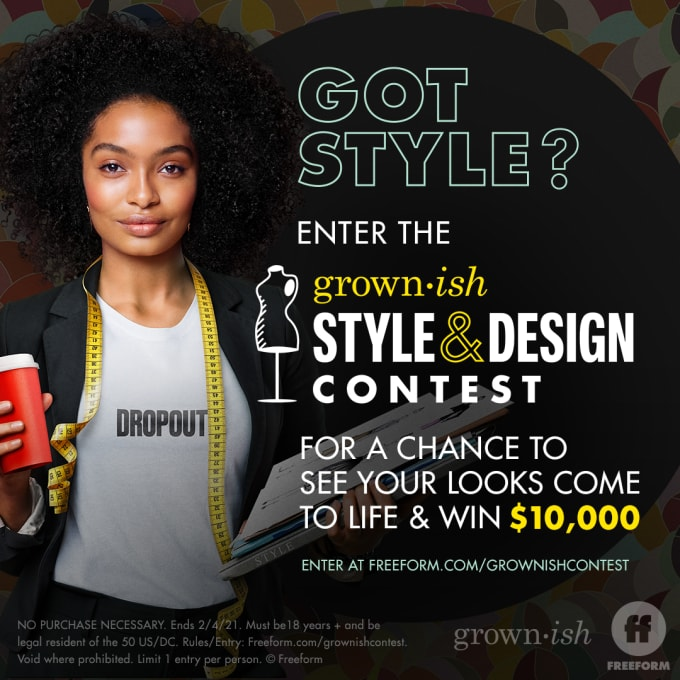 Grown-ish Style and Design Contest