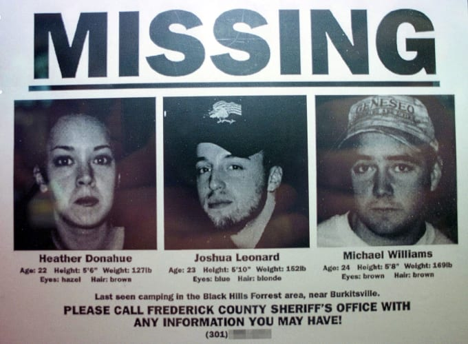 'The Blair Witch Project' missing photo