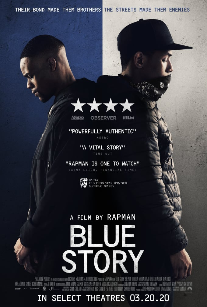 Blue Story official poster
