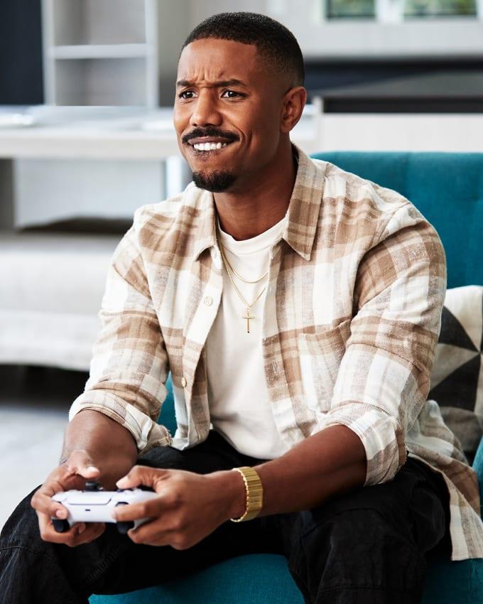 Michael B. Jordan x PlayStation 5