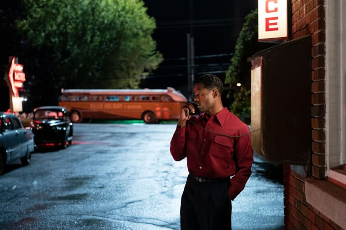 Trevante Rhodes in 'The United States vs. Billie Holiday'