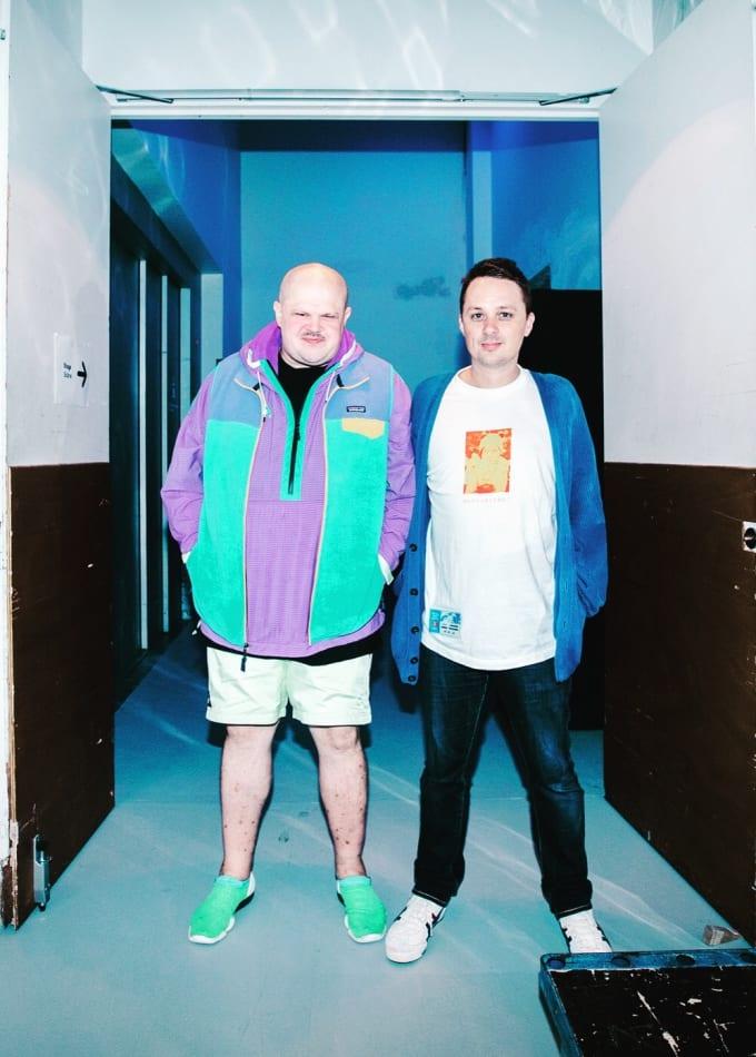Teki Latex and Nick Dwyer