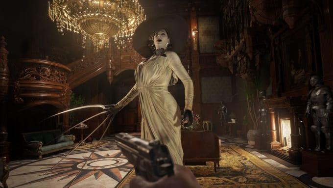 Lady Dimitrescu from 'Resident Evil Village'