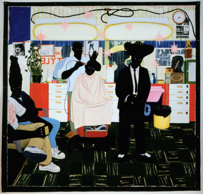 'De Style', Kerry James Marshall, 1993