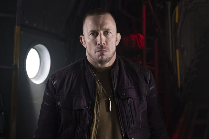 Georges St-Pierre as Batroc in 'The Falcon and the Winter Soldier'