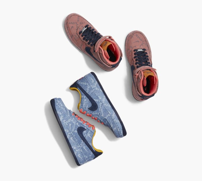 Alternativa Detectable Caramelo  Go Denim Crazy with Nike X Levi's By You | Complex UK