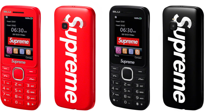 Supreme Blu Burner Phone
