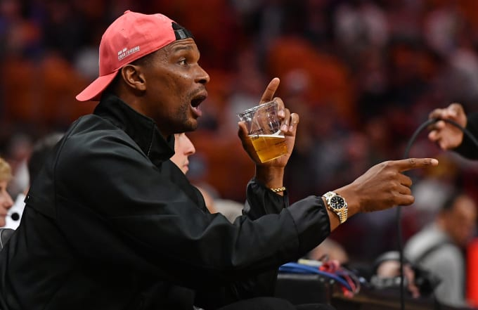 Chris Bosh Courtside Heat 2019