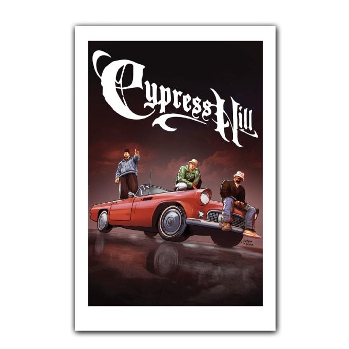 Cypress Hill: Tres Equis Art Print 01