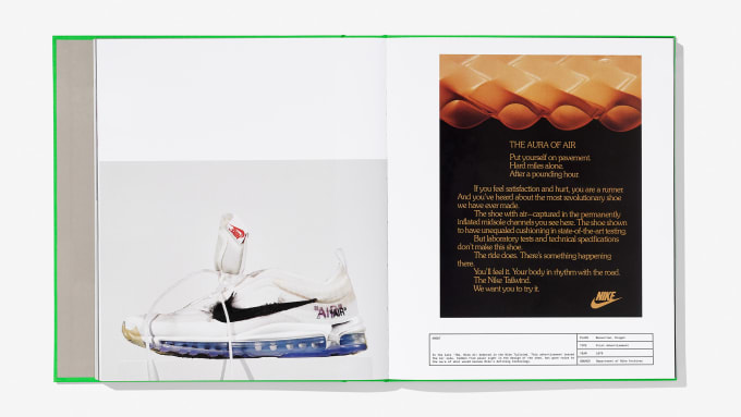 Virgil Abloh and Nike ICONS Book