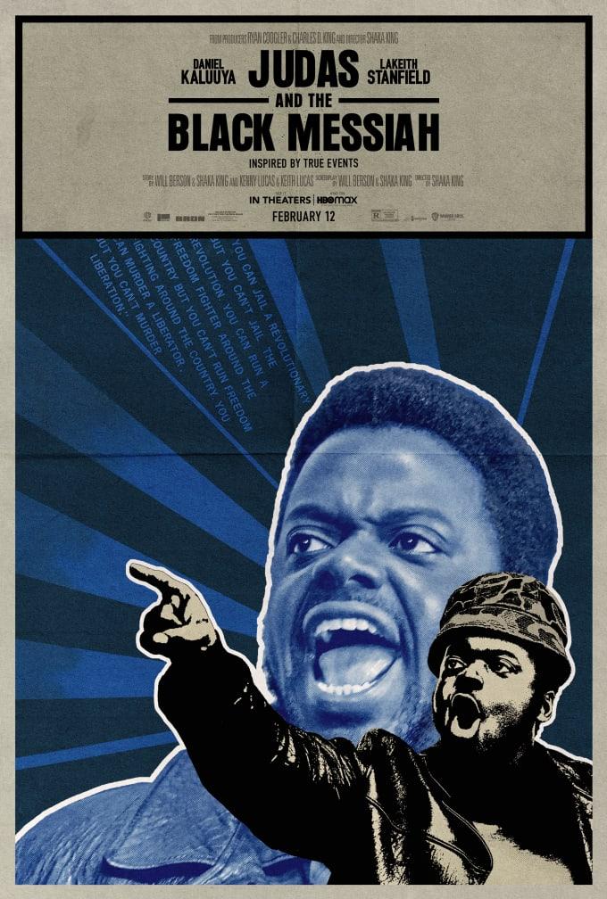 Emory Douglas 'Judas and the Black Messiah' Poster