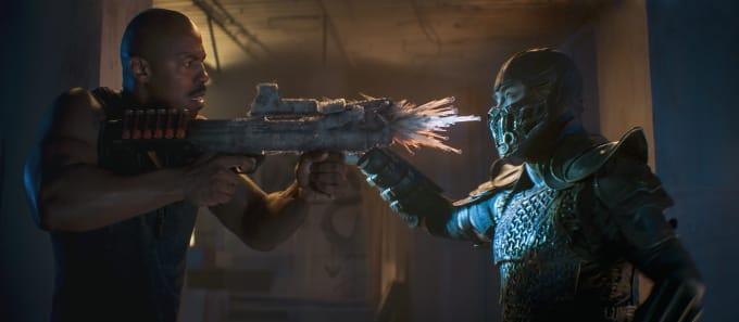 Jax (Mehcad Brooks) and Sub Zero (Joe Taslim), 'Mortal Kombat'