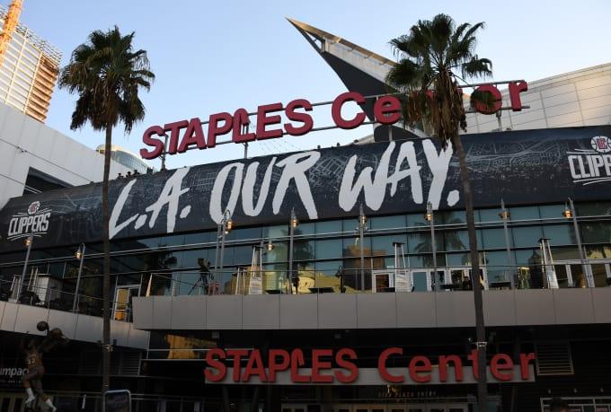 Staples Center 2019 Season Opener